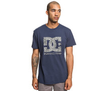 Dazzle Star - T-Shirt - Blau