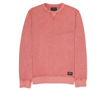 Wave Washed Crew - Sweatshirt - Rot