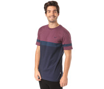Deck Stripe - T-Shirt - Lila