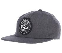 Patch Snapback Cap - Grau