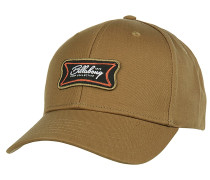Walled Snapback Cap - Braun