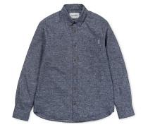 Cram L/S - Hemd - Blau