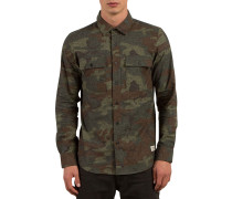 Woodland L/S - Hemd - Camouflage