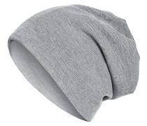 Rib 2in1 Mütze - Grau