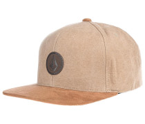 Quarter Fabric - Snapback Cap - Braun