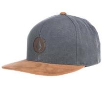 Quarter Fabric - Snapback Cap - Grau