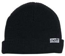 Fold Mütze - Schwarz