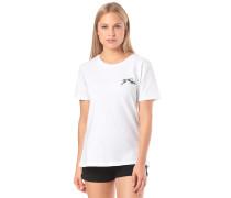 Sleeve Gothic R - T-Shirt - Weiß