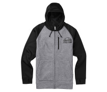Crown Bndd Fz - Fleecejacke - Grau