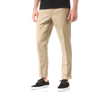 Slim Fit Work - Stoffhose - Beige