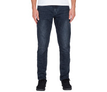 Solver Tapered - Jeans - Blau