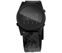 Daily Digital Uhr - Schwarz