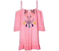 Soda Springs Emb - Kleid - Pink