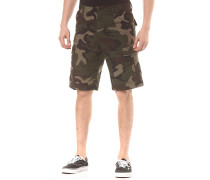 Regular - Cargo Shorts - Camouflage