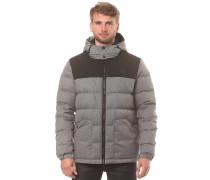 Wool Look Down Puffer - Funktionsjacke - Grau