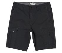 Scheme - Cargo Shorts - Schwarz