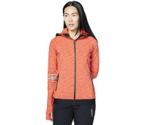 Fleece - Fleecejacke - Orange