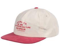 Supply Co Snapback Cap - Rot