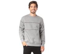 Piping - Sweatshirt - Grau