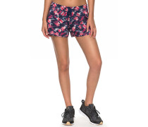 All In Time Printed - Shorts - Blau