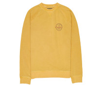 Crossboard Crew - Sweatshirt - Gelb