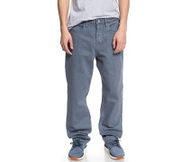 Worker Relaxed - Jeans - Blau