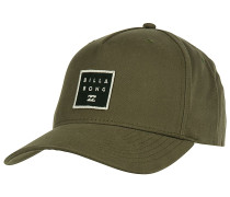 Stacked Snapback Cap - Grün