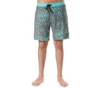 Shadow Leaf - Boardshorts - Blau