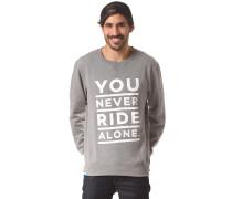 YNRA Font Crew - Sweatshirt - Grau