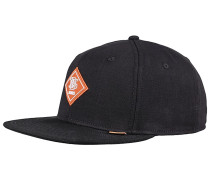 6P SB Sunnyfab Snapback Cap - Schwarz