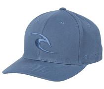 Tepan Curved Peak Flexfit Cap - Blau