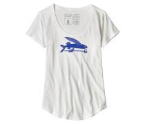 Flying Fish Organic Scoop - T-Shirt - Weiß