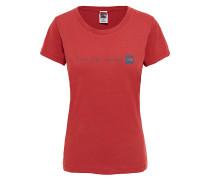 Never Stop Exploring - T-Shirt - Rot