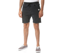Baller Denim Elastic - Shorts - Schwarz