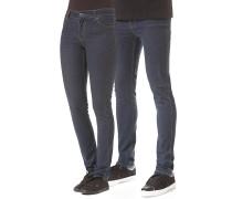 Tight Jeans - Blau