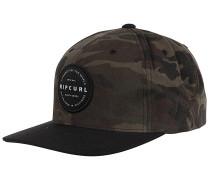 Mission Badge Snapback Cap - Camouflage