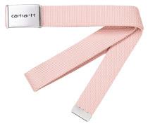 Clip Chrome Gürtel - Pink