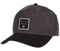 Stacked Snapback Cap - Grau