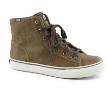 Double Up Hi Lthr - Sneaker - Braun