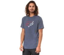 Planned Out Tech - T-Shirt - Blau