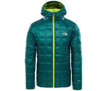 Kabru Hooded Down - Outdoorjacke - Grün