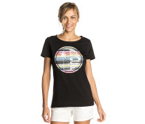 Hibiscus Beach - T-Shirt - Schwarz