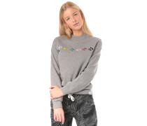 Glyphline Crew - Sweatshirt - Grau