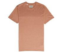All Day Crew - T-Shirt - Braun