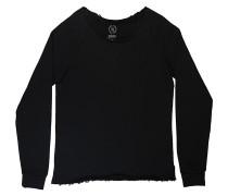 Regular Reglan - Sweatshirt - Schwarz