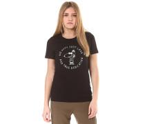True - T-Shirt - Schwarz