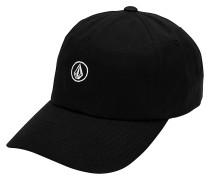 Circle Stone Dad Hat Strapback Cap - Schwarz
