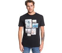 Island Location - T-Shirt - Schwarz