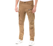 Rovic Zip 3Dapered - Cargohose - Beige