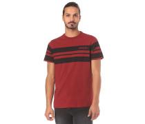 Classic Stripe Wide - T-Shirt - Rot
